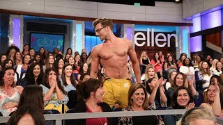 Brad the Fireman Stripper Gives Pregnant Women Hot Flashes
