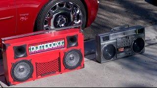 Review: Bumpboxx Freestyle vs JVC M90 boombox SOUNDCHECK