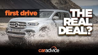 X-Class: A REAL Mercedes? First drive review!