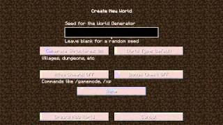 Minecraft - SinglePlayer #1: البداية