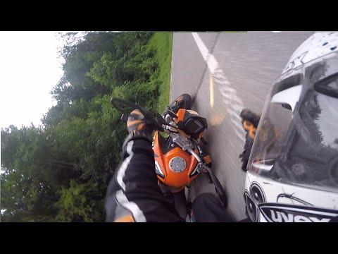 KTM Duke 125 Crash