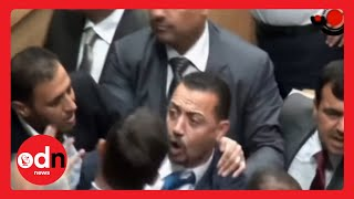 MP fires AK-47 during parliament session in Jordan