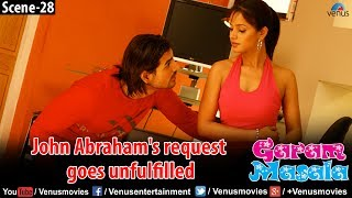 Naughty John Abraham's urge goes unfulfilled (Garam Masala)
