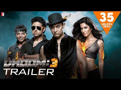 DHOOM 3 Official Trailer Aamir Khan Abhishek Bachchan Katrina Kaif Uday Chopra