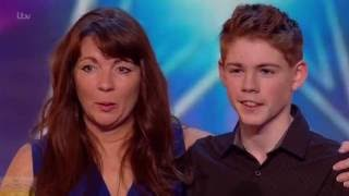 Britain's Got Talent 2016 S10E07 Mel & Jamie Touching Mother Son Singing Duet Full Audition