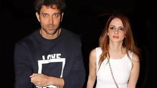 Hrithik Roshan full birthday bash with Sussanne