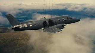 The Dark Knight Rises | Plane Crash | Plane Hijack | Hindi Dubbed | Movie Scene