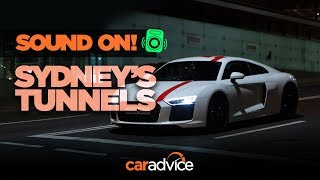 Audi R8 RWS: Sydney