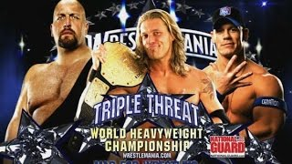 John Cena vs. Big Show vs. Edge - World Heavyweight Championship : WrestleMania 25