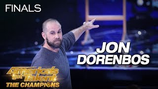 Jon Dorenbos: Magician Delivers Jaw-Dropping Performance - America