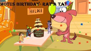 Rat-A-Tat | Chotoonz Kids Cartoon Videos | 'MOTU'S BIRTHDAY'