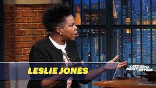 Leslie Jones Almost Vomited on SNL