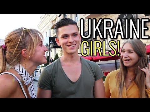 What Ukrainian girls in Odessa think of foreign guys Street Interviews