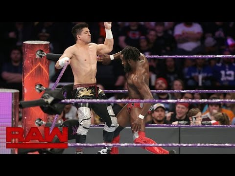 TJ Perkins vs. Rich Swann vs. Noam Dar - No. 1 Contender's Match: Raw, Nov. 21, 2016
