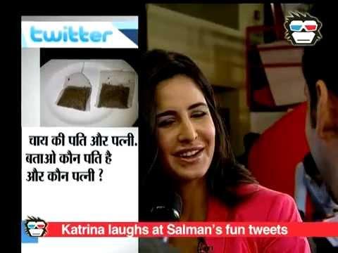 Xxx Mp4 Katrina Kaif Can T Stop Laughing Over Salman Khan S Funny Tweets 3gp Sex