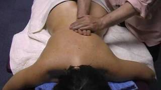 relaxing and warm oil back massage 2