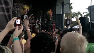 The Casualties - Warped Tour 2010 (San Diego)