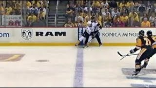 Forsberg Offsides!! Closer Look: 2017 NHL Stanley Cup Final Game 1