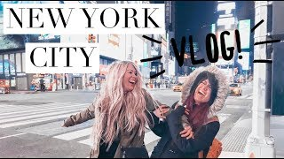 DOING HAIR IN NEW YORK CITY! | TRAVEL VLOG