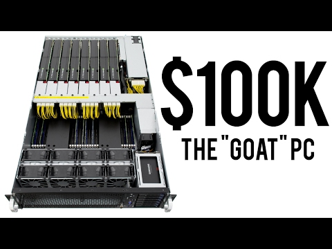 The UNBELIEVABLE 100 000 Workstation Gaming PC for 2017 100 000 Subscriber Special