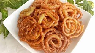 মাত্র ১০ মিনিটে মুচমুচে জিলাপি/Instant Crispy Jalebi Recipe- রমজান স্পেশাল