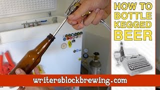 Bottle Kegged Beer How To (Blichmann Beer Gun)