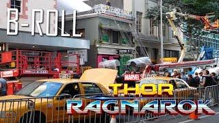 Thor 3 Ragnarok Behind The Scenes
