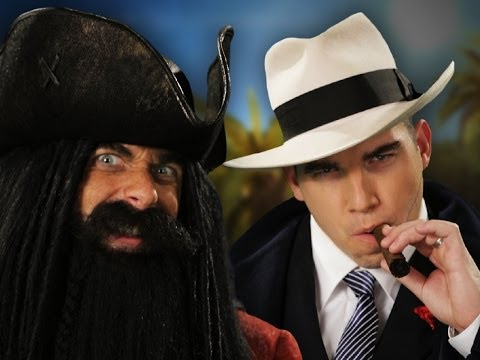 Download Blackbeard vs Al Capone.  Epic Rap Battles of History Season 3.