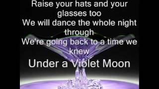 Under A Violet Moon - Blackmore´s Night - Lyrics