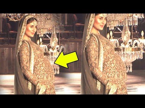 Fully Pregnant Kareena Kapoor Walks The Ramp At Lakme Fashion Week 2016