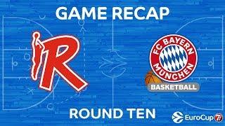 Highlights: Grissin Bon Reggio Emilia - FC Bayern Munich