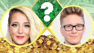 WHO'S RICHER? - Jenna Marbles or Tyler Oakley? - Net Worth Revealed! (2017)