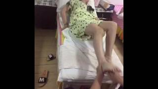 Orgasm induced by massage