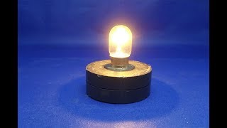 Free energy generator with light bulbs 12V - How to make Free energy using magnets  at home 2018