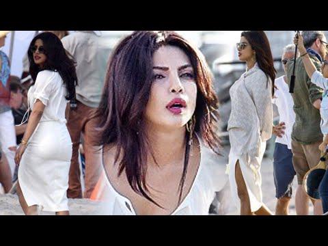 On The Sets : Priyanka Chopra Shooting For Baywatch