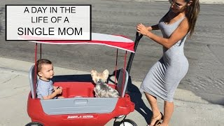 A DAY IN THE LIFE OF A SINGLE MOM vlog