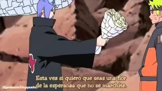 Obito VS Konan sub español