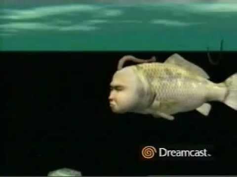 Sega Dreamcast Seamen Preview Commercial - WEIRD GAME!