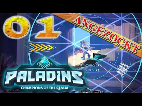 Paladins #01 ★ Ich FEIER dat Game xD ★ Lets Play Paladins - Angezockt (Ger/De)
