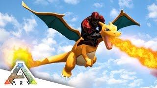 FLYING CHARIZARD! - ARK SURVIVAL EVOLVED POKEMON MOD #9
