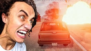 SURVIVING ANY EXPLOSION EASILY! (PlayerUnknown