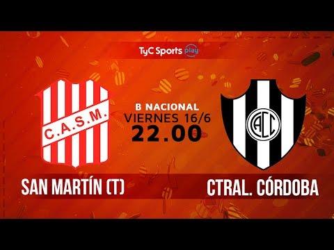 Primera B Nacional: San Martín (T) vs. Central Córdoba (SdE) | #BNacionalenTyC