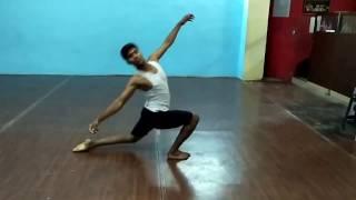 Tu Na Jaane Aas Paas Hai Khuda  .student contemporary dance by him self