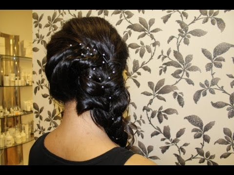 Xxx Mp4 HOW TO Indian Side Braid Hair Style Tutorial 3gp Sex