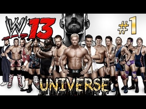 WWE '13 - Smackdown & Raw Universe Mode - Episode 1 (Raw & Smackdown) (HD) (Gameplay)