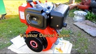 10hp Diesel Engine Unboxing/Overview