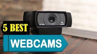 5 Best Webcams 2018 | Best Webcams Reviews | Top 5 Webcams