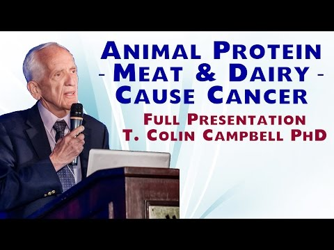 Animal Protein Meat and Dairy Cause Cancer