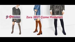 Zara 2017 Çizme Modelleri #SenFarklısın