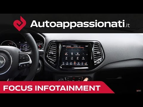 Uconnect 8 4 Jeep Compass Focus Infotainment